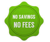 no savings no fees